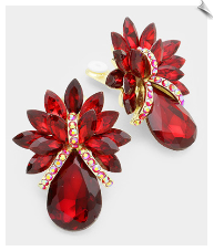 Clip Earrings - Glamour (SKU: SOLRD6999)
