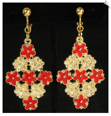 Clip Earrings - Fashion (SKU: SOL6979)