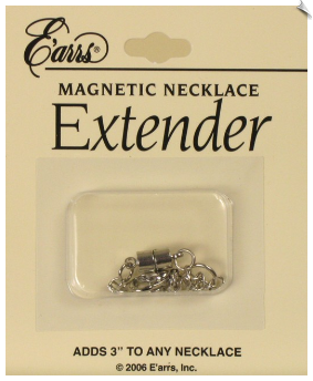 Necklace Extender- Silvertone (SKU: JS523)