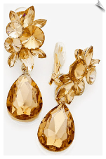 CRYSTAL - Clip Earrings (SKU: SOLGD17630)
