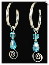 FASHION - Spring Back Hoops (SKU: SOL7418)