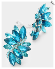 Fashion - Crystal Earrings (SKU: SOLTL17757)