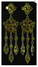 Clip On Earrings - Chandeliers (SKU: SOL4664)