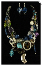 Necklace Set - Blue (SKU: SOL5250)