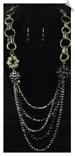 Necklace Set - Silver (SKU: SOL5200)