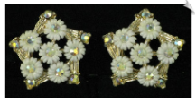 Clip On Earrings - Vintage (SKU: SOL4778)