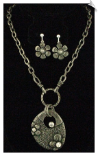 Necklace Set - Silver (SKU: SOL5271)