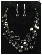 Necklace Set - SIlver (SKU: SOL5198)